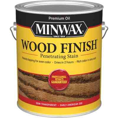 Minwax Wood Finish Penetrating Stain, Early American, 1 Gal.