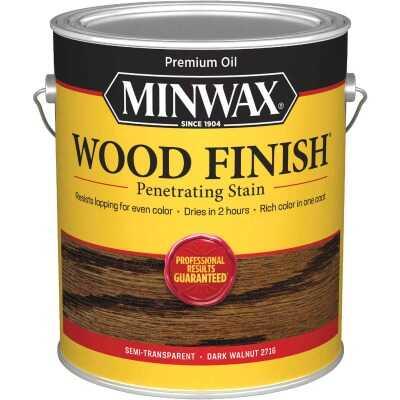 Minwax Wood Finish Penetrating Stain, Dark Walnut, 1 Gal.
