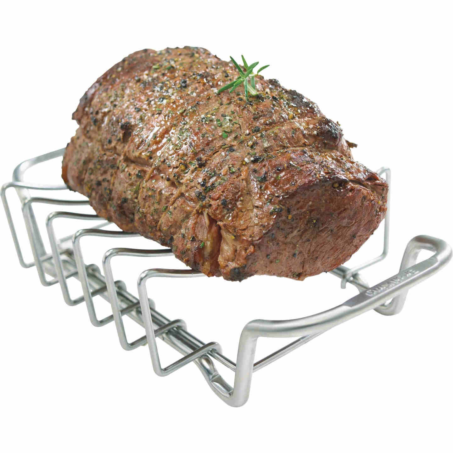 Broil King Imperial Series Stainless Steel Rib & Roast Grill Rack Image 3