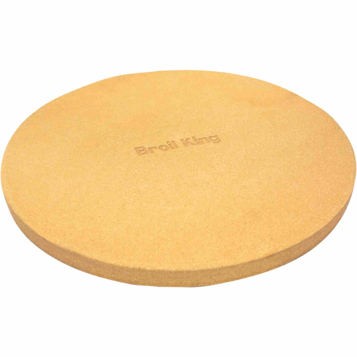 Broil King 15 In. Ceramic Composite Extra Thick Grilling Pizza Stone Image 1